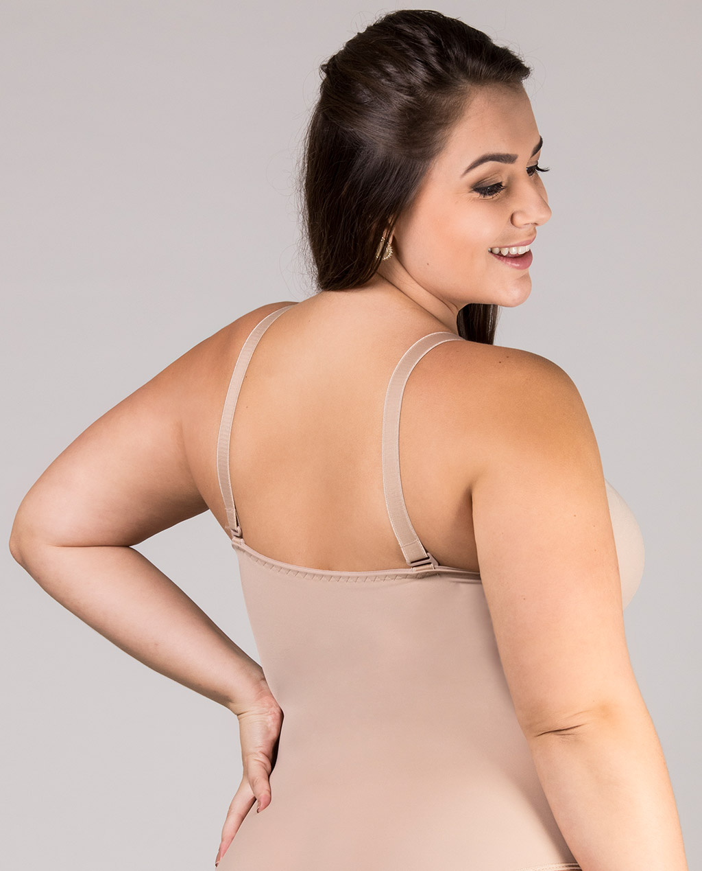 Body Plus Size com Bojo Multiuso