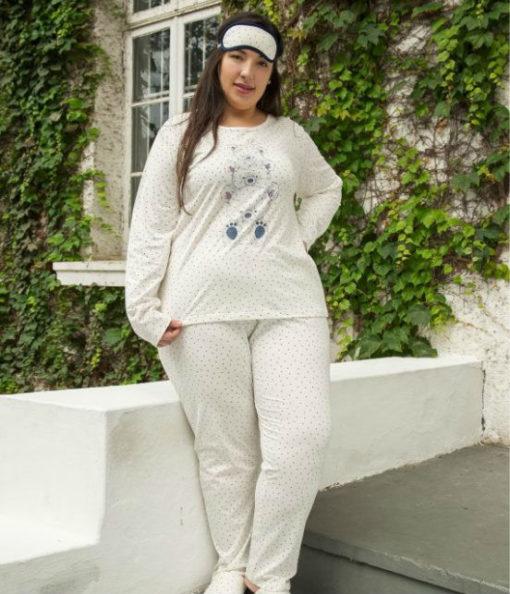 Pijama Plus Size com Calça