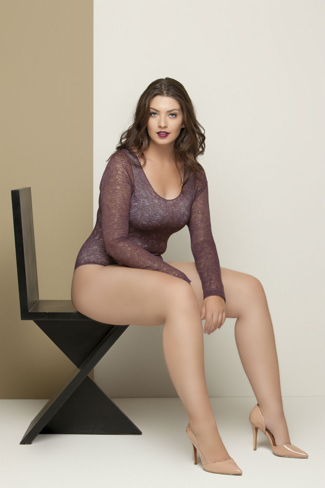 Body Renda Plus Size